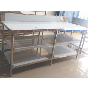 Work Table 2 under shelf