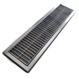 Gutter Grill Plat As Stripe