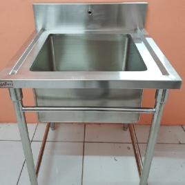 Pot Sink merupakan produk kitchen stainless yang digunakan untuk mencuci perabotan atau perlengkapan masakan