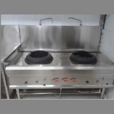 Kompor stainless untuk memasak dengan tekanan api tinggi