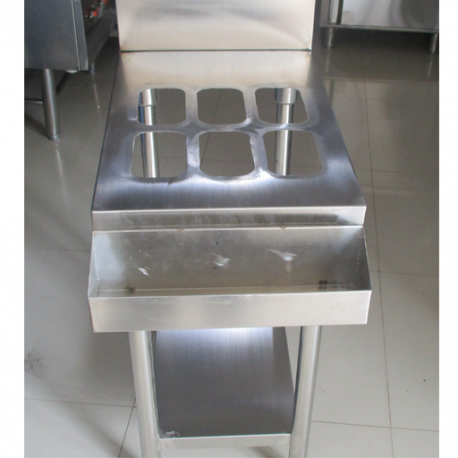 Souce Table With 6 Pan