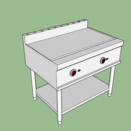 gas griddle top flat